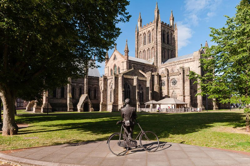 Hereford Cathedral Close