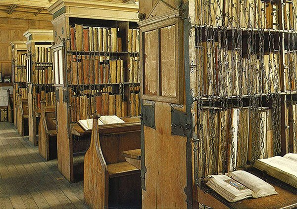 The Chained Library at Hereford Cathedral