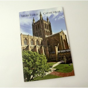 Hereford Cathedral guide book