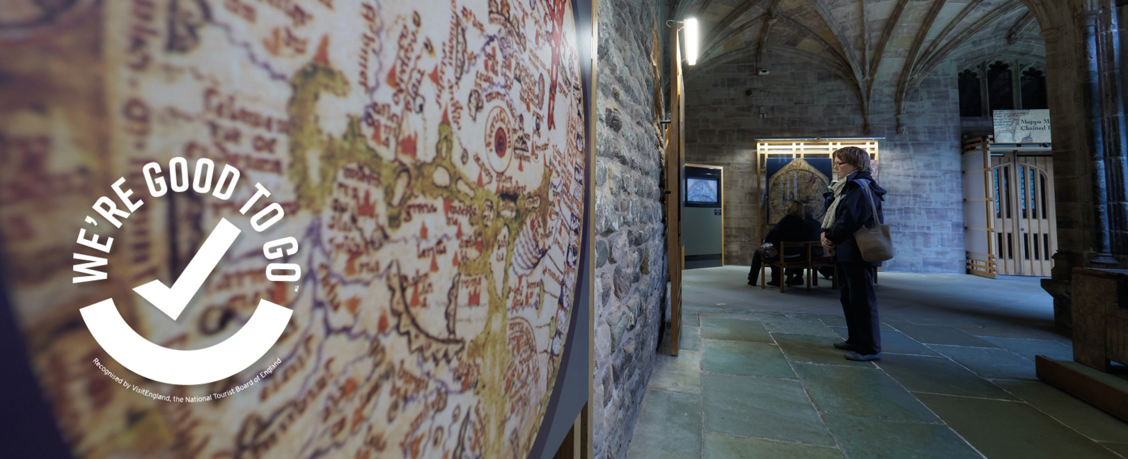 Mappa Mundi & Chained Library Reopens