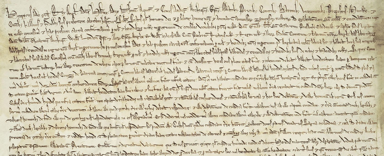 The 1217 Magna Carta