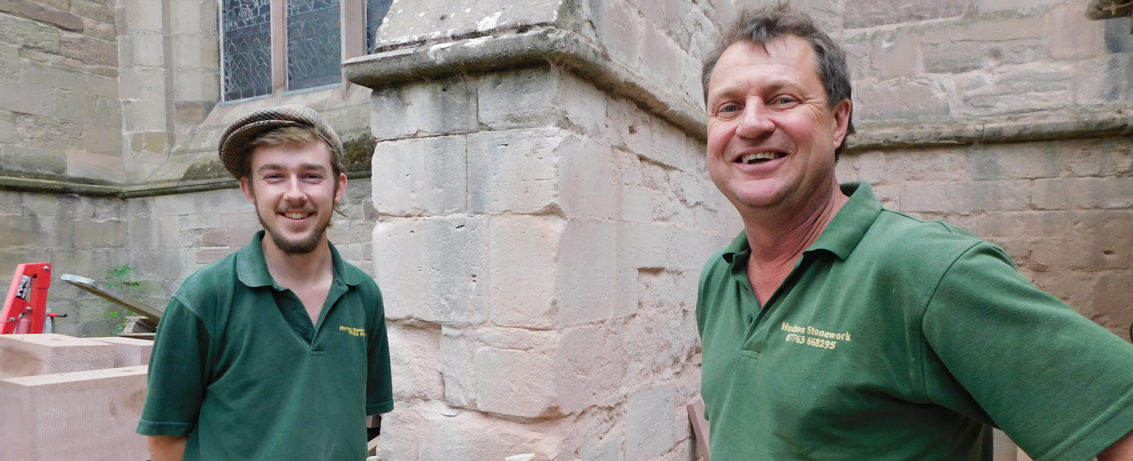 National Recognition for Hudson Stonework