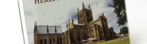 Hereford Cathedral fridge magnet