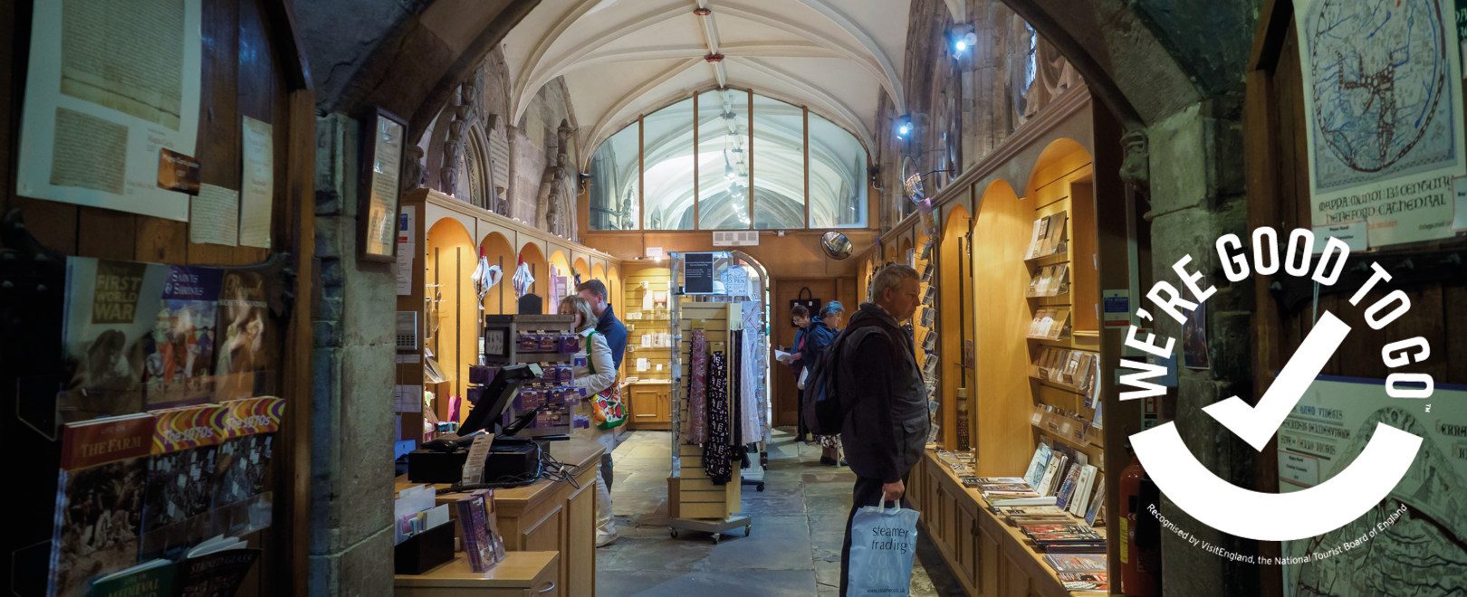 Cathedral Shop Reopens!