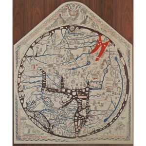 Mappa Mundi: English translation (digital image)