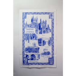Hereford Cathedral tea towel