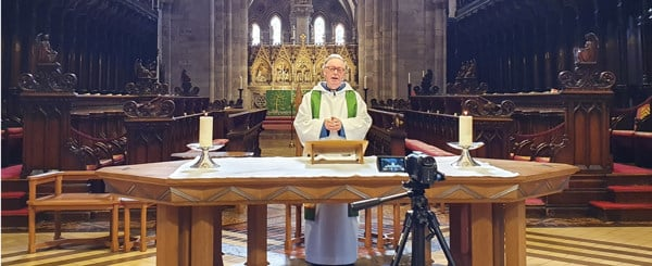 Live-streaming at Hereford Cathedral